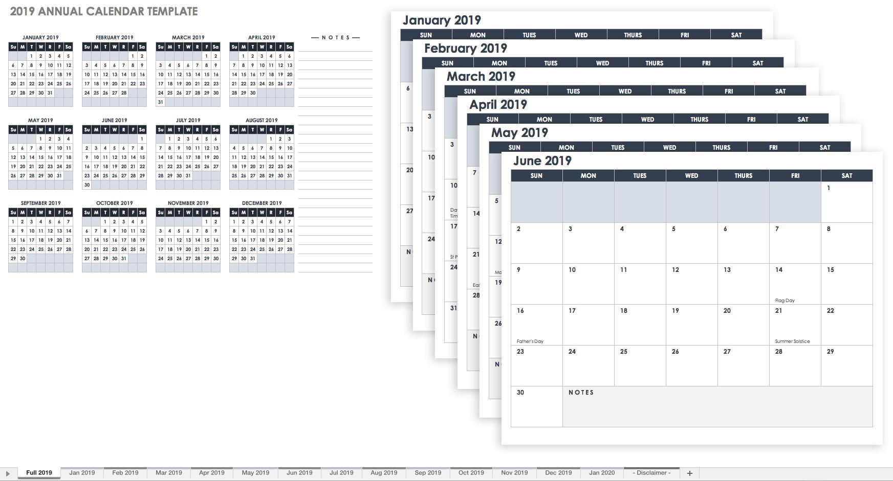 15 Free Monthly Calendar Templates  </p>   </div>        <br>     <div class=