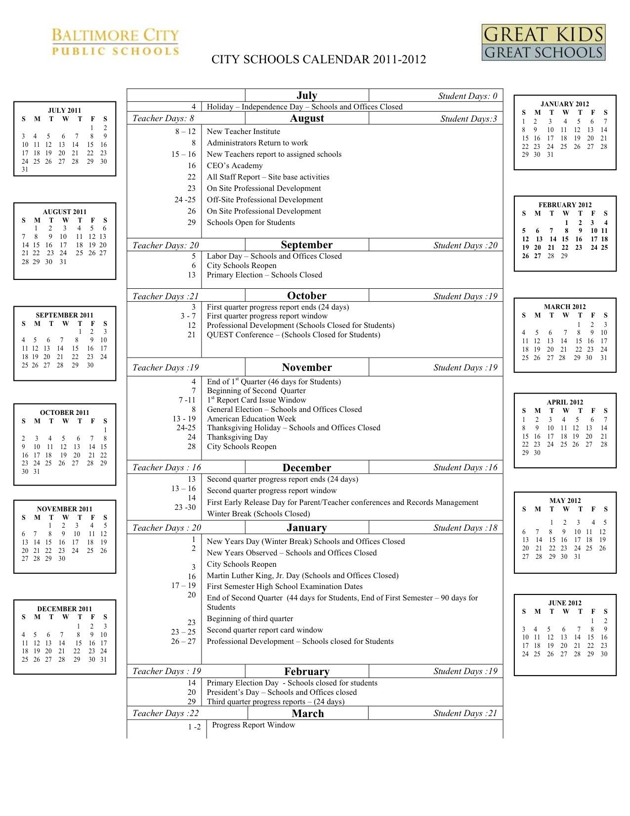 2011-2012 School Calendar  </p>   </div>        <br>     <div class=