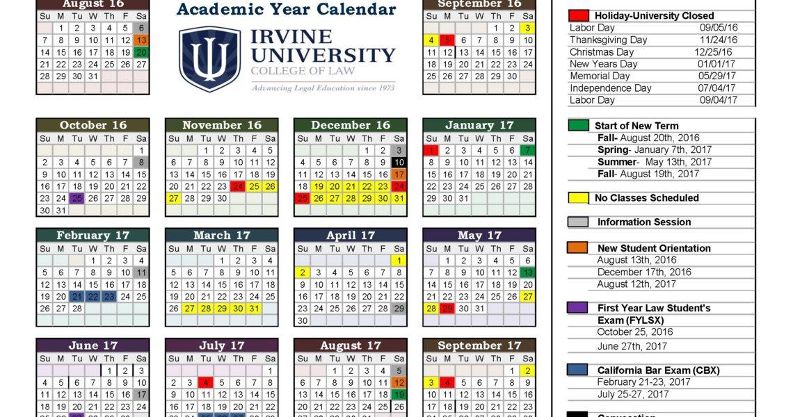 2016-2017-Academic-Calendar-Iu -_U Of T School Calendar