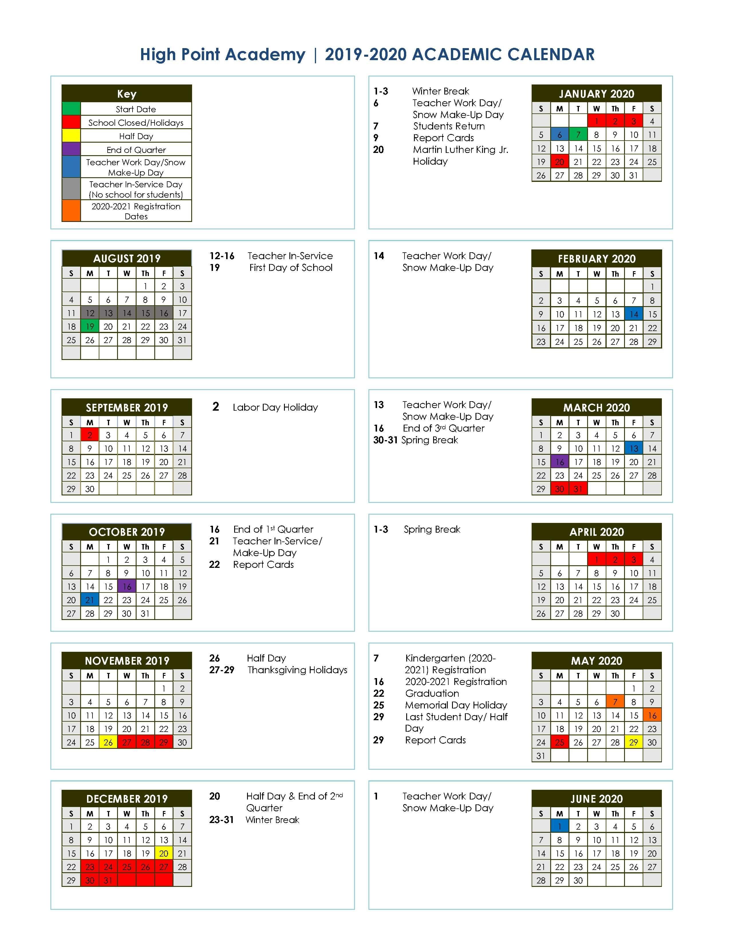 2019-2020 Academic School Calendar  </p>   </div>        <br>     <div class=