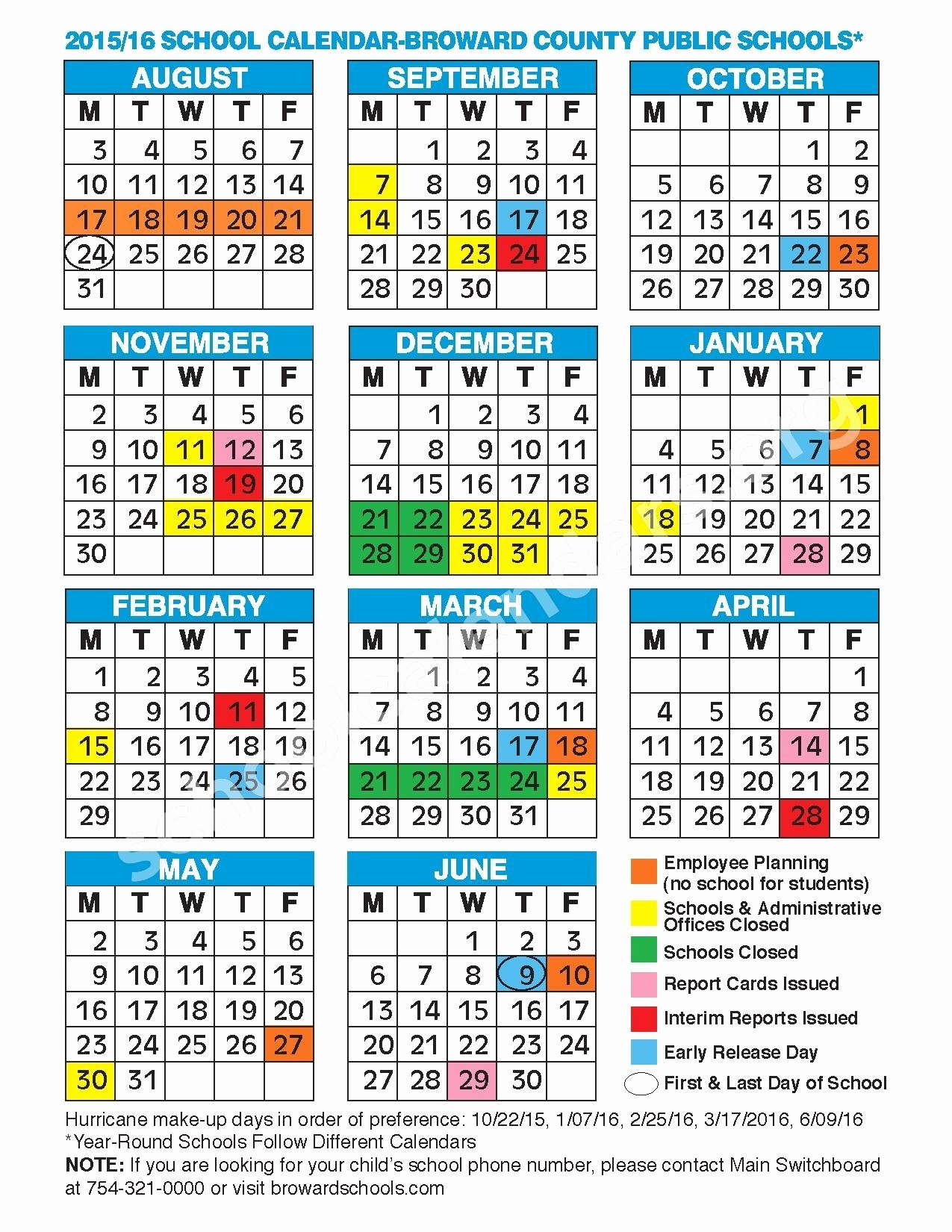 2019 2020 School Calendar Broward Melbourne Senior High School_School Calendar For Broward County