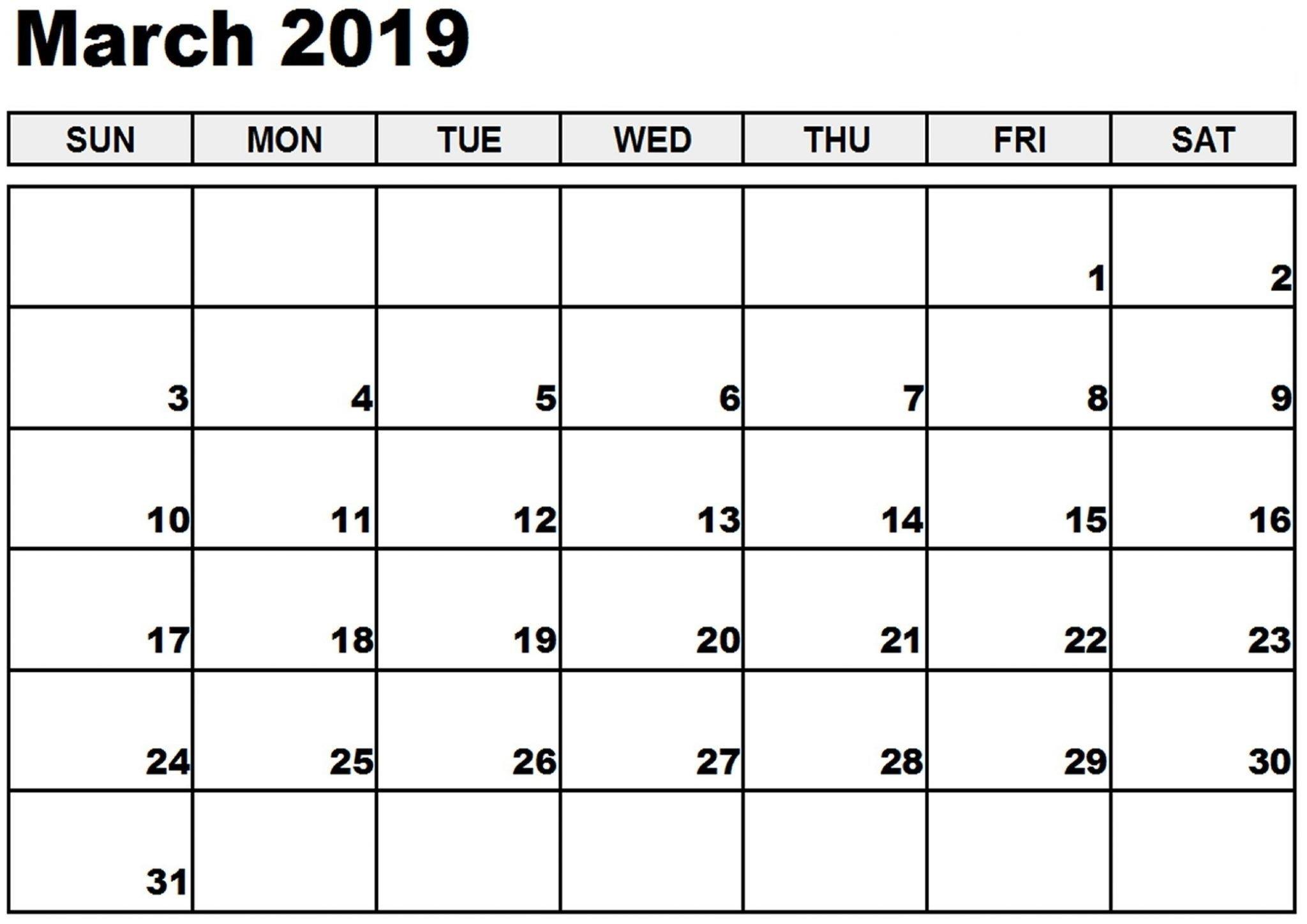 2019 March Calendar #march #marchcalendar #march2019Calendar_Calendar 2019 Printing Singapore