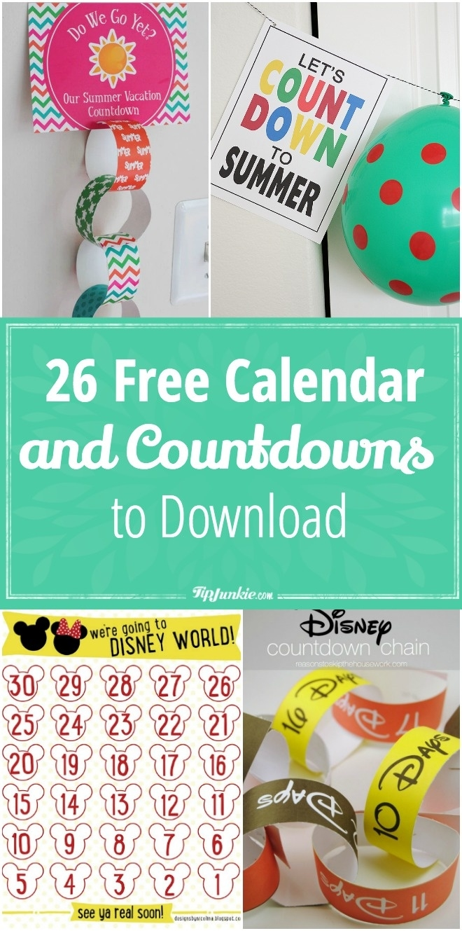 26 Free Calendar And Countdowns To Download For May – Tip Junkie_Countdown Calendar To Retirement Desktop