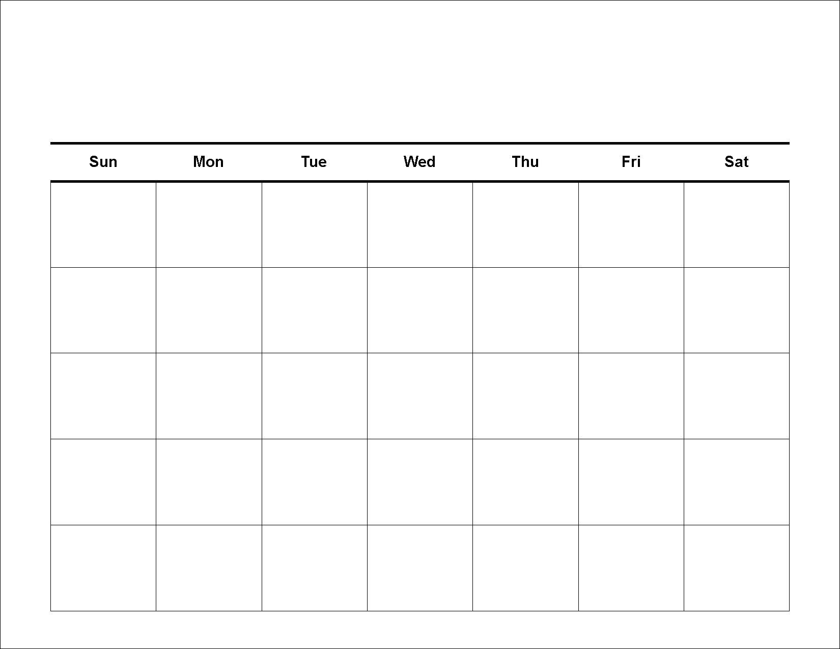 30-Day-Calendar-Template-Printable-Large_Free Calendar Blanks To Print