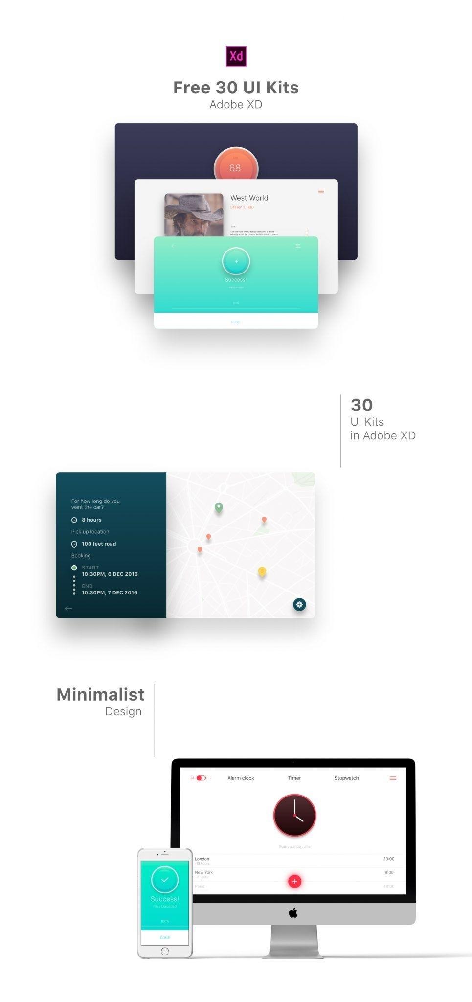 30 Free Minimal Ui Kits  </p>   </div>        <br>     <div class=