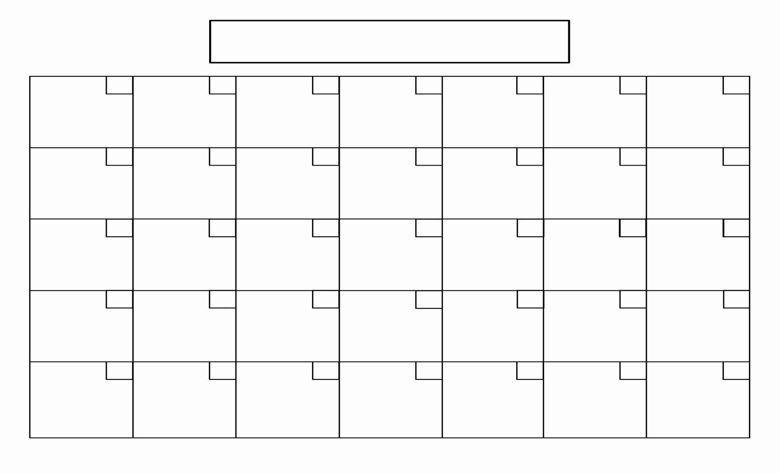 4 Weekly Calendar 4 Week Calendar Blank Calendar Template 2018_4 Week Calendar Blank