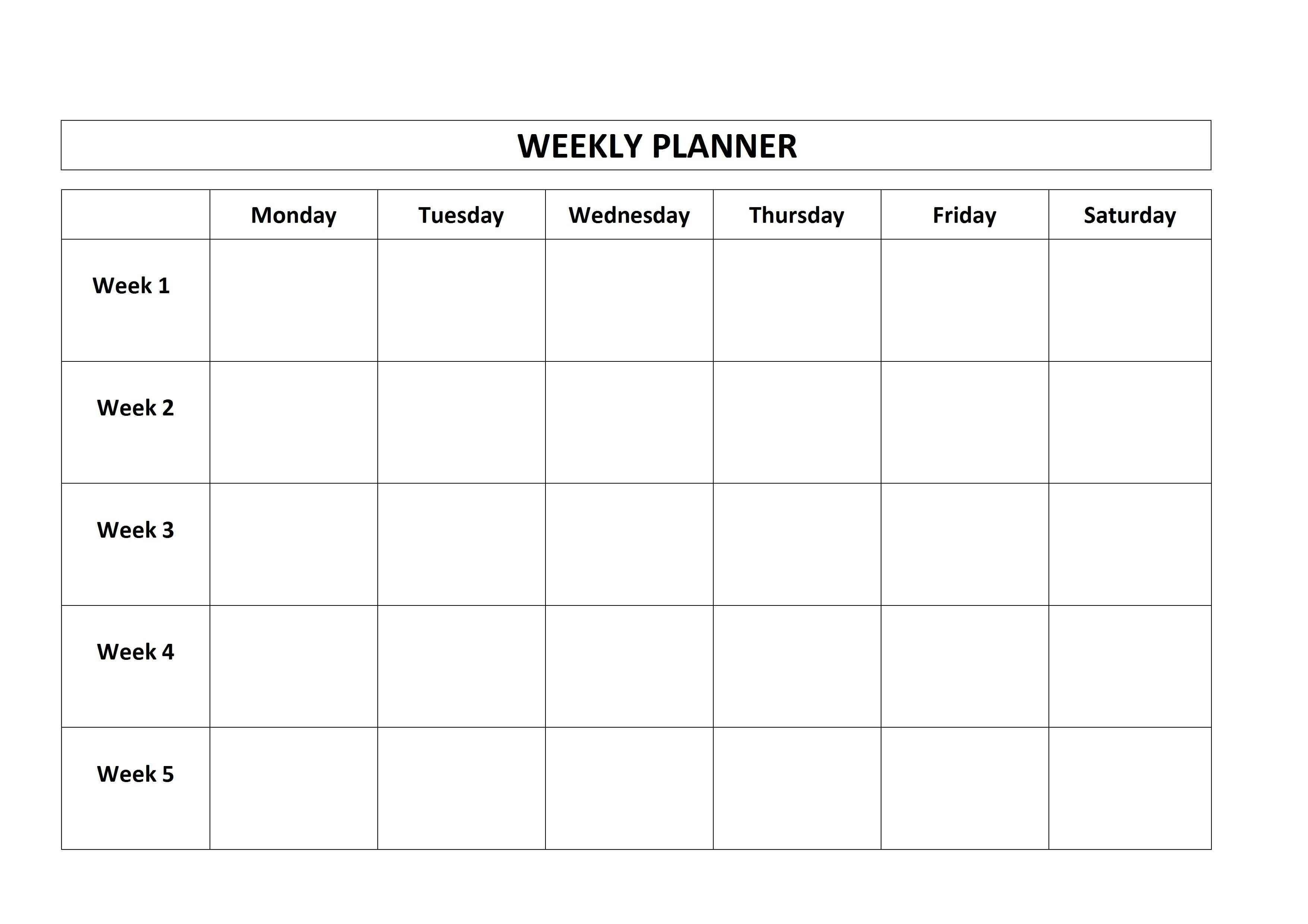 5 Day Calendar Template - Vaydile.euforic.co-Blank Calendar Template_5 Day Calendar Blank