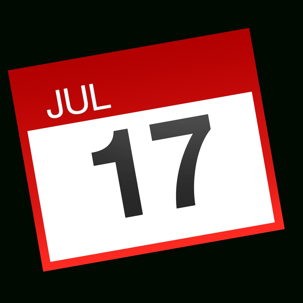 8 Ios 7 Calendar Icon Images - Ios 7 Calendar App Icon, Iphone_Calendar Icon For Iphone