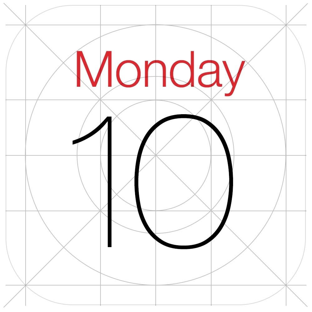8 Ios 7 Calendar Icon Images - Ios 7 Calendar App Icon, Iphone_Ios 7 Calendar Icon