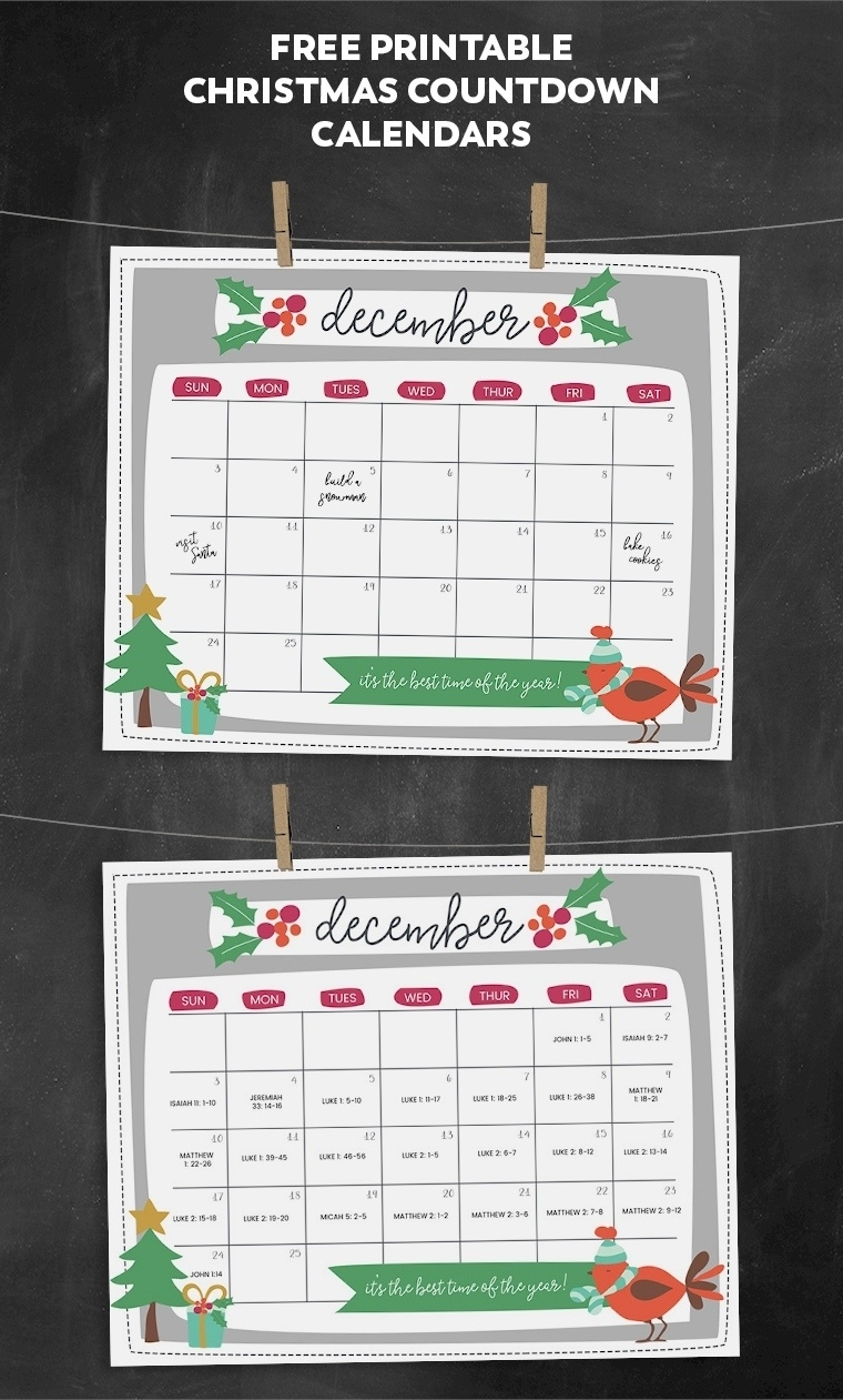 8 Week Countdown Calendar • Printable Blank Calendar Template_Countdown Calendar For My Computer