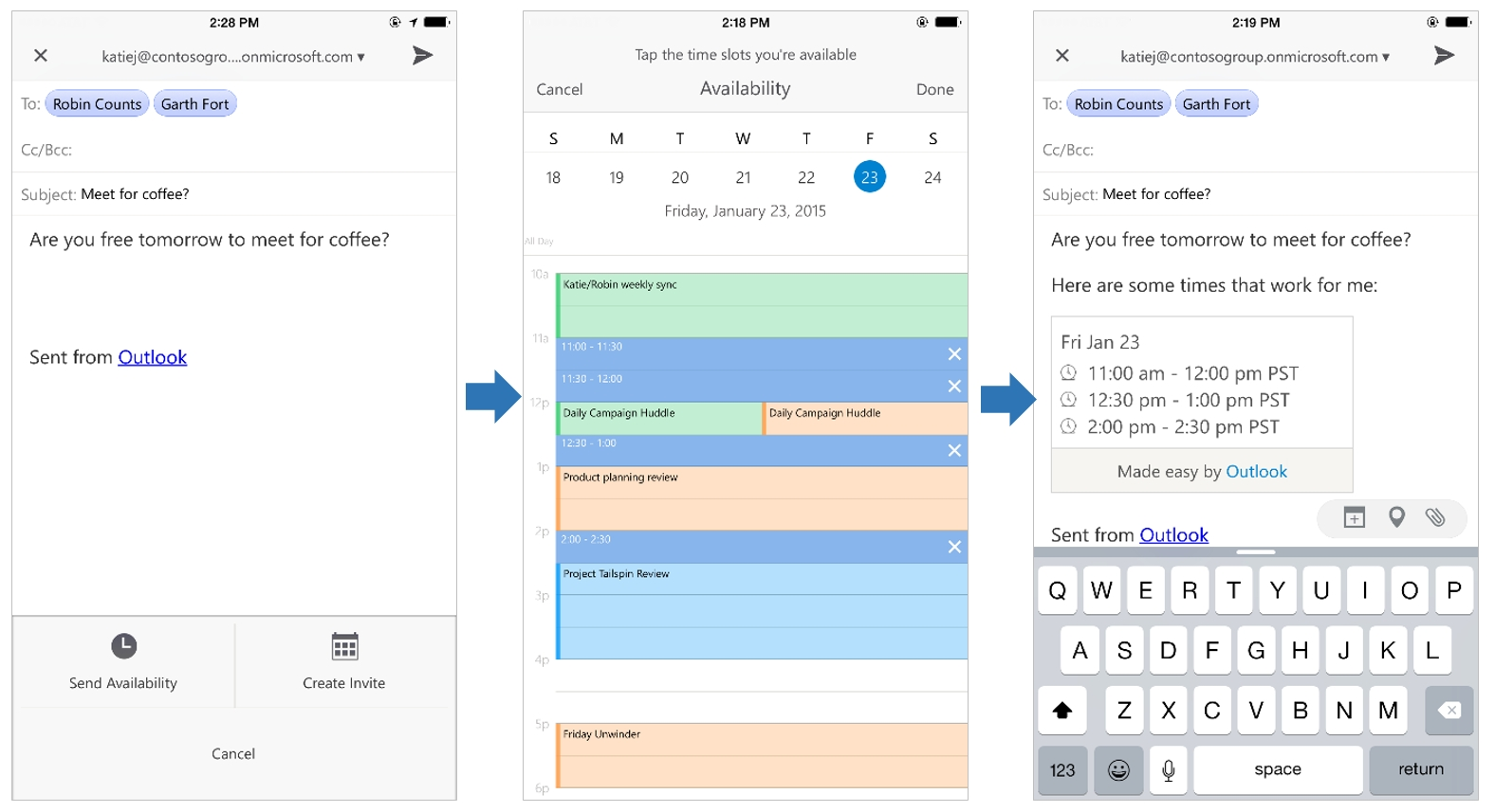 A Deeper Look At Outlook For Ios And Android - Microsoft 365 Blog_Calendar Icon Not Showing In Outlook