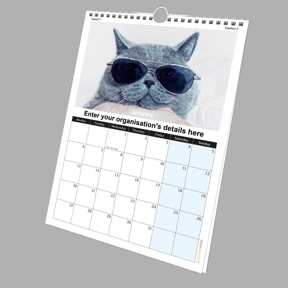 A4 Wall Calendar Printing • Printable Blank Calendar Template_A4 Wall Calendar Printing