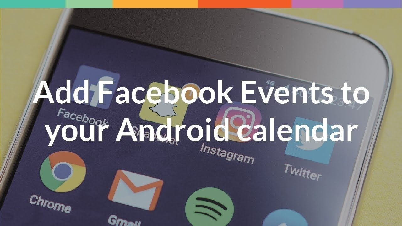 Add Facebook Events To Your Android Calendar_Countdown Calendar For Android