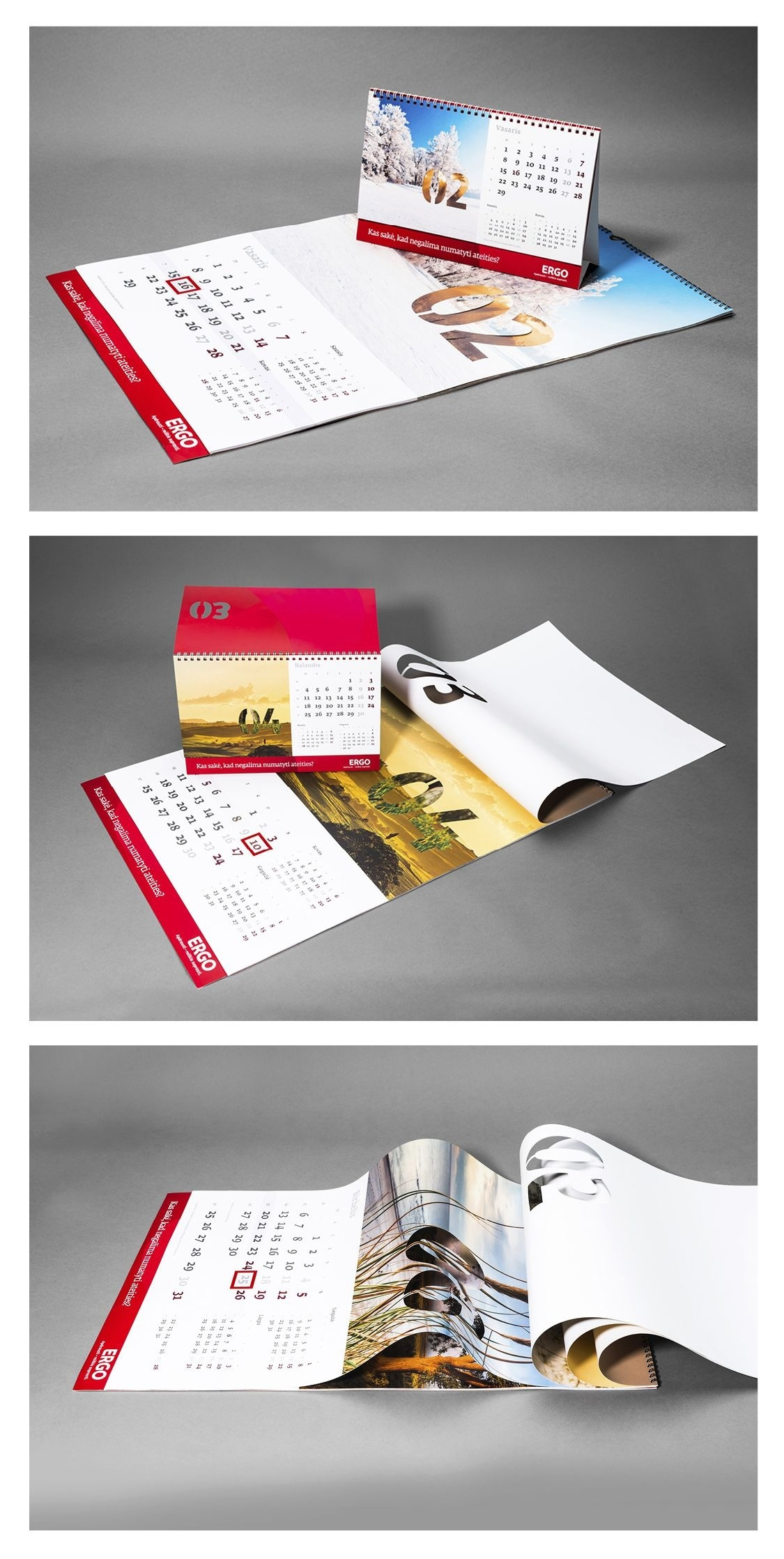 An Original Concept For A Calendar By An Insurance Company. Every_The Calendar Printing Company