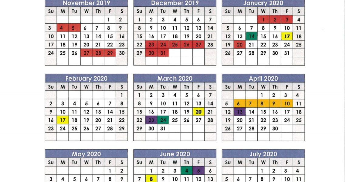 Anderson School District 1 Calendar 2019 And 2020 - Publicholidays_Anderson 5 School Calendar