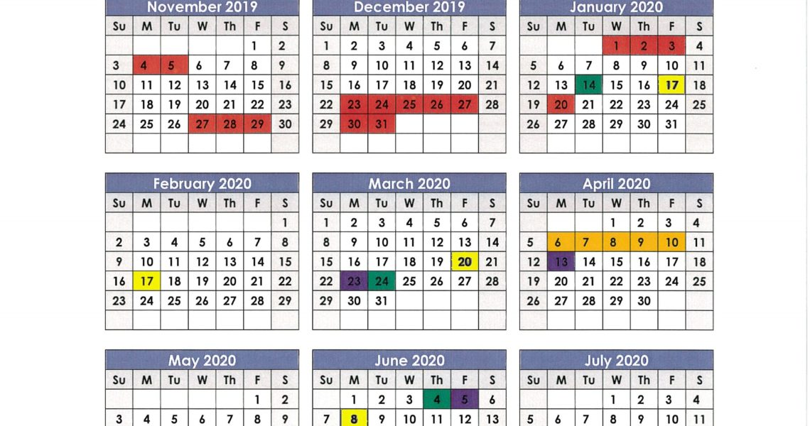 Anderson School District 1 Calendar 2019 And 2020 - Publicholidays_School District 5 Calendar 2020