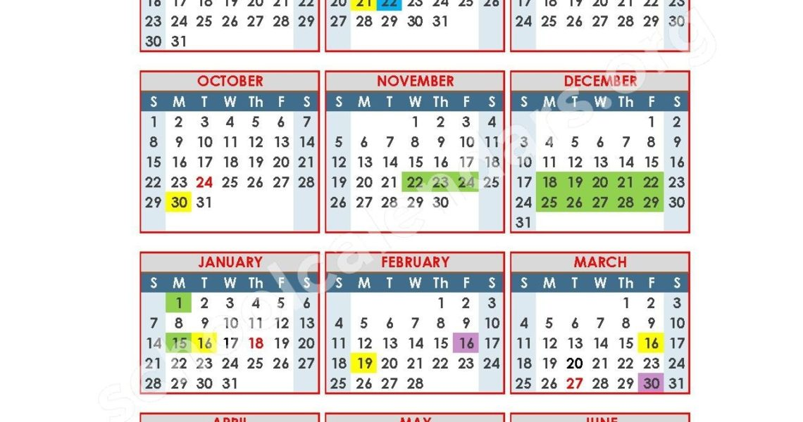 Anderson School District 5 Calendars – Anderson, Sc_District 5 School Calendar