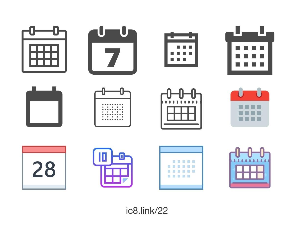 Apple Calendar Icon Generator • Printable Blank Calendar Template_Calendar Icon Generator Online