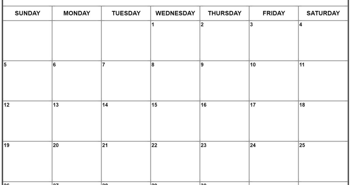 April 2020 Calendar | Free Printable Monthly Calendars_Blank Calendar April 2020 Printable