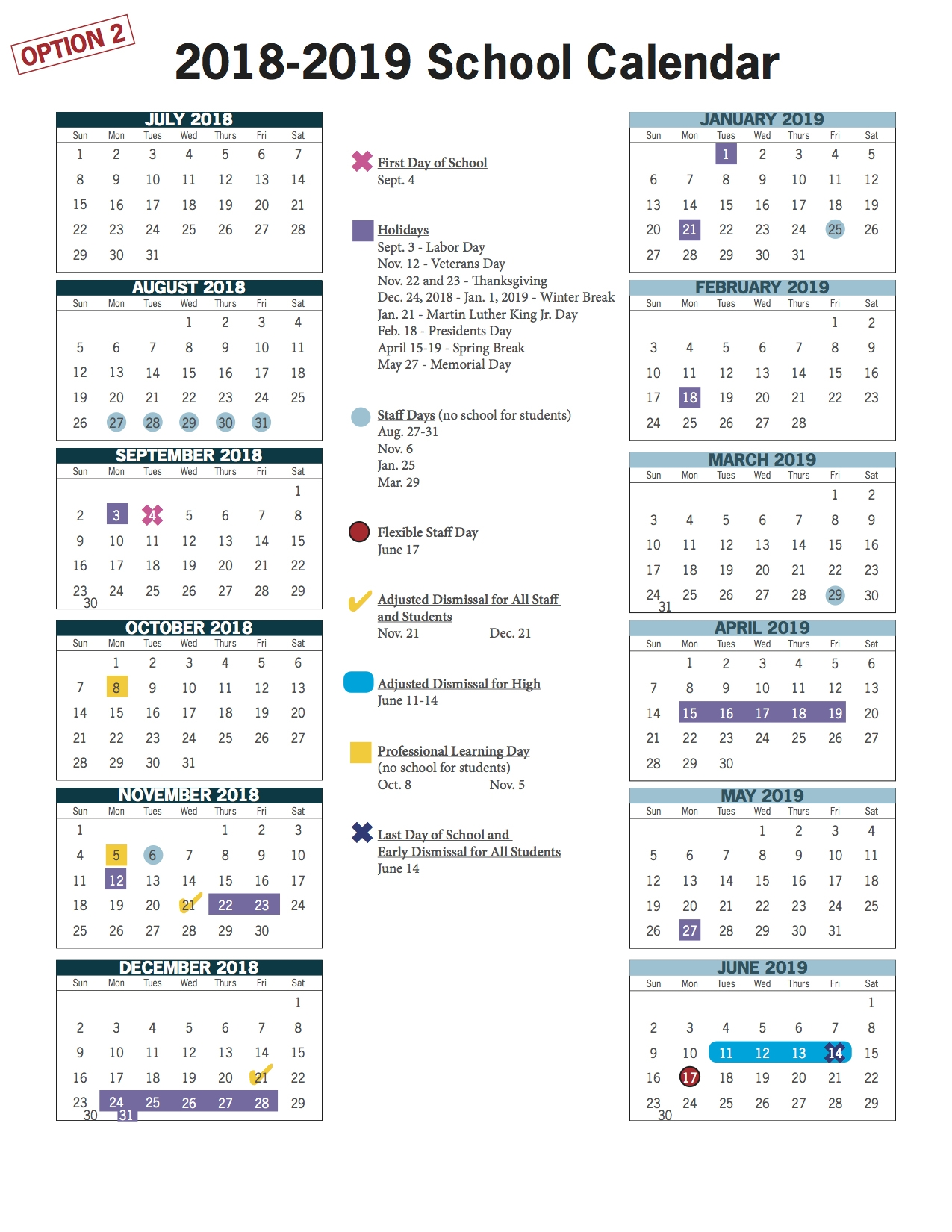Awesome 35 Design 2019 19 School Year Calendar Lee County  </p>   </div>        <br>     <div class=