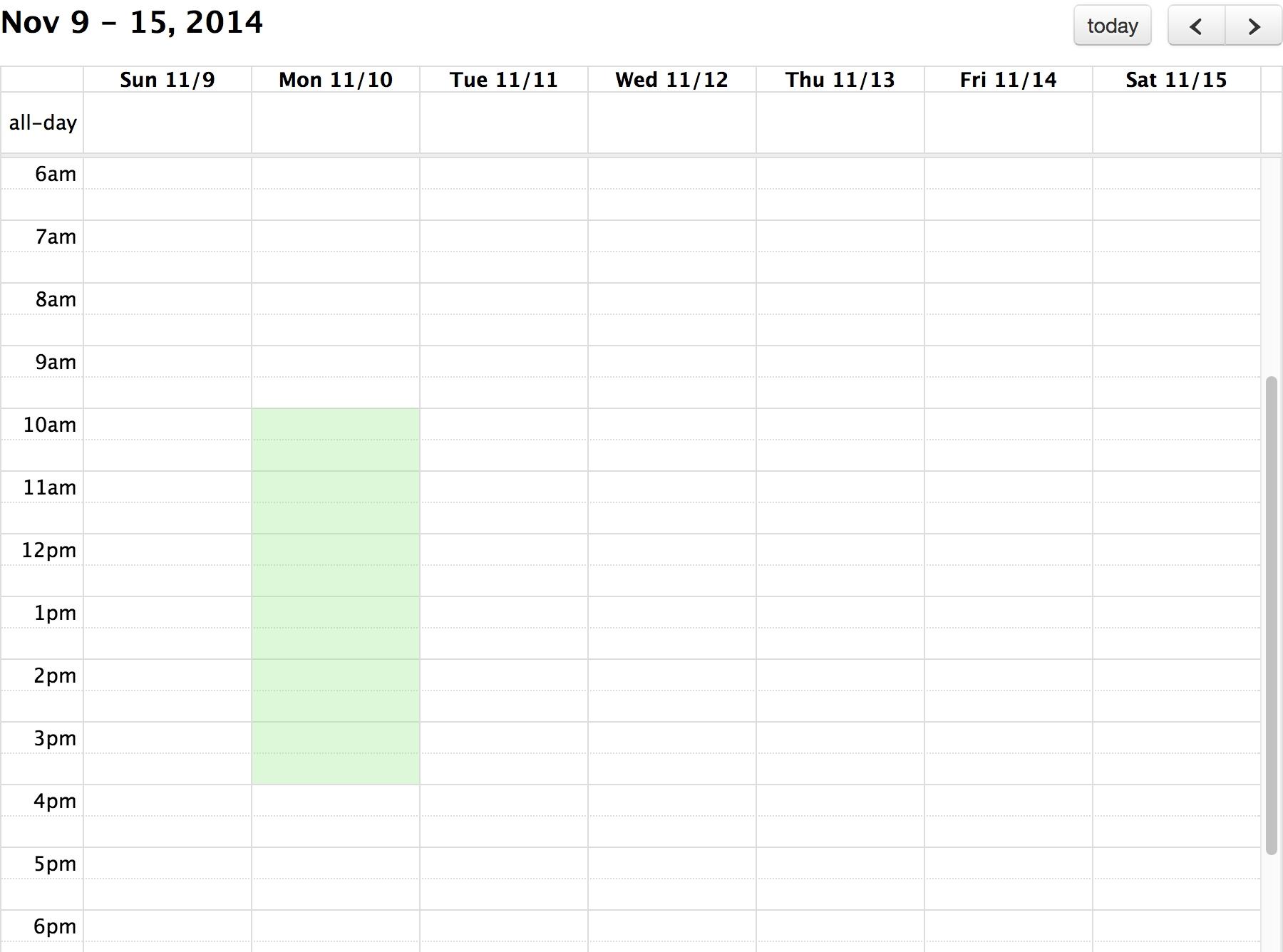 Background Events - Docs | Fullcalendar_Full Calendar Icon Event