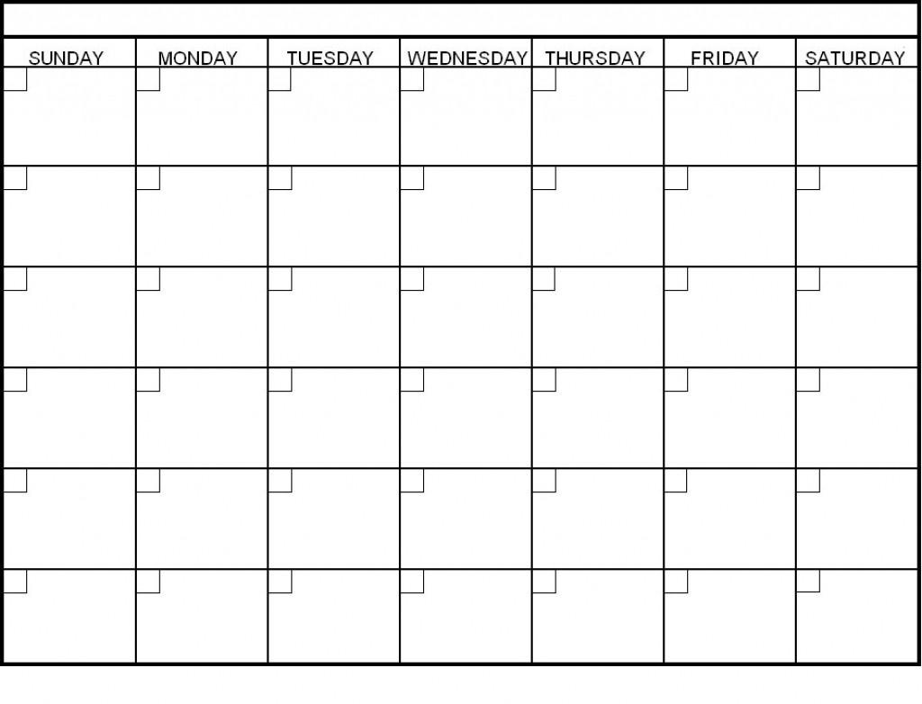 Blank 6 Week Calendar Oklmindsproutco Pictures Within 6 Week_Blank 6 Week Calendar Printable