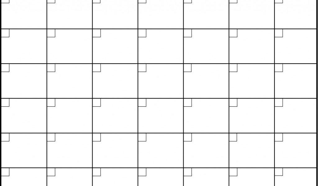 Blank 6 Week Calendar Oklmindsproutco Pictures Within 6 Week_Free 6 Week Blank Calendar