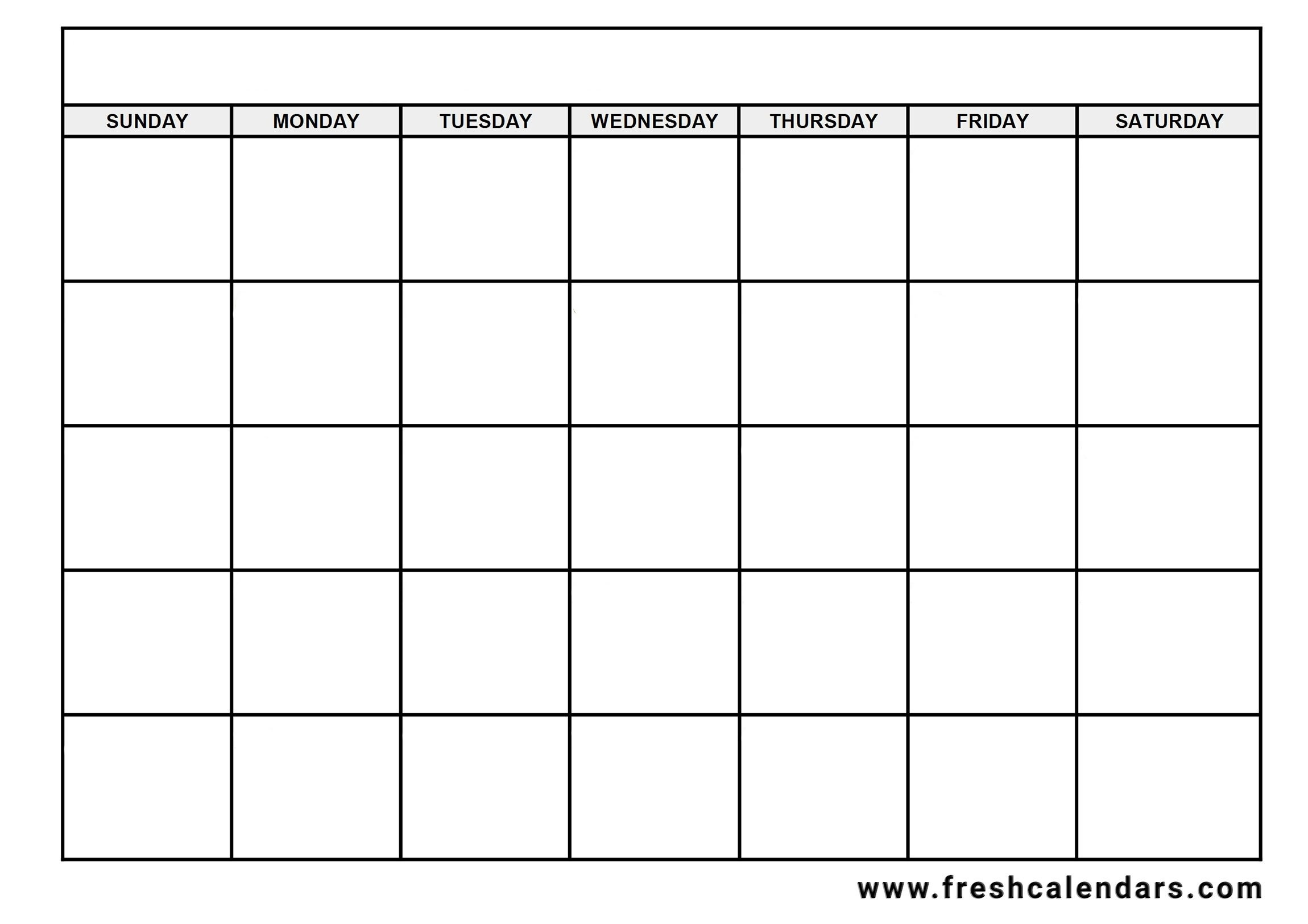 Blank Calendar: Wonderfully Printable 2019 Templates_Blank Calendar In Word