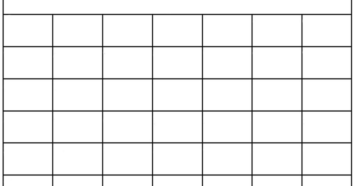Blank Calendar: Wonderfully Printable 2019 Templates_Blank Calendar To Use In Word