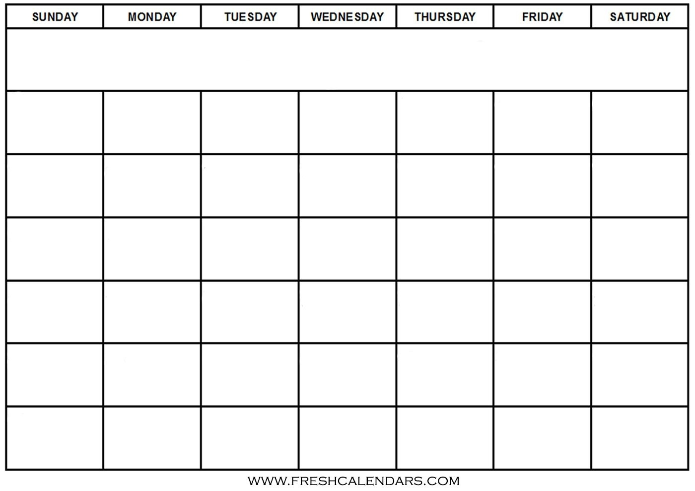Blank Calendar: Wonderfully Printable 2019 Templates_Blank Calendar You Can Type In