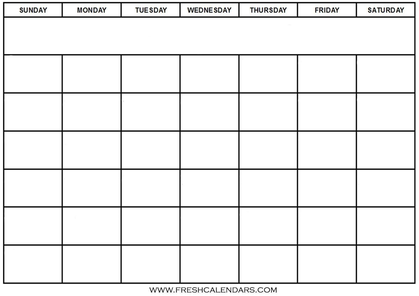 Blank Calendar: Wonderfully Printable 2019 Templates_Calendar Blank Template Pdf