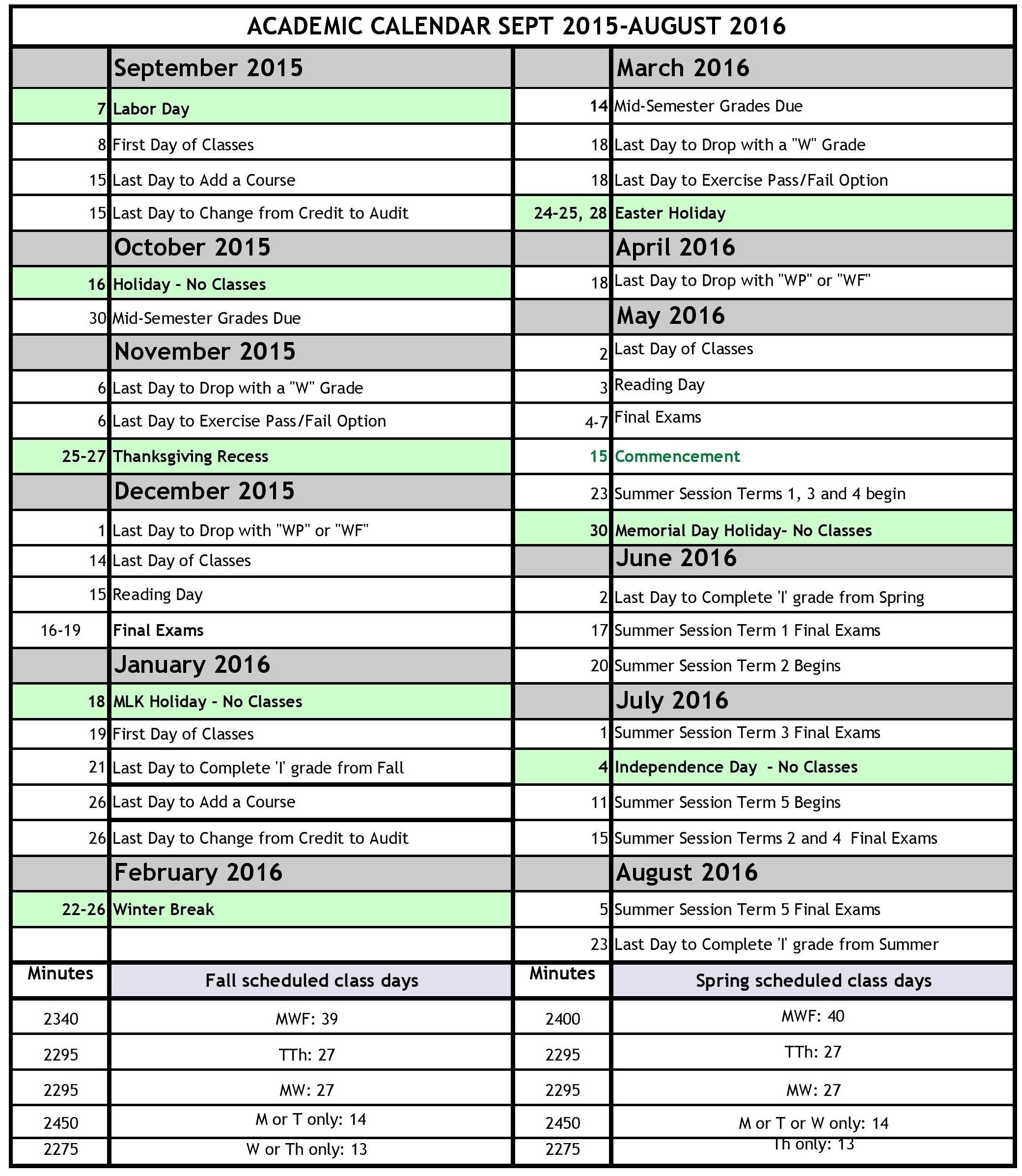 Board Of Education Holiday Calendar Nyc 2016 | Blank Calendar_School Year Calendar Nyc