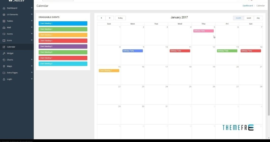 Bootstrap 4 Calendar Icon • Printable Blank Calendar Template_Calendar Icon Bootstrap 4