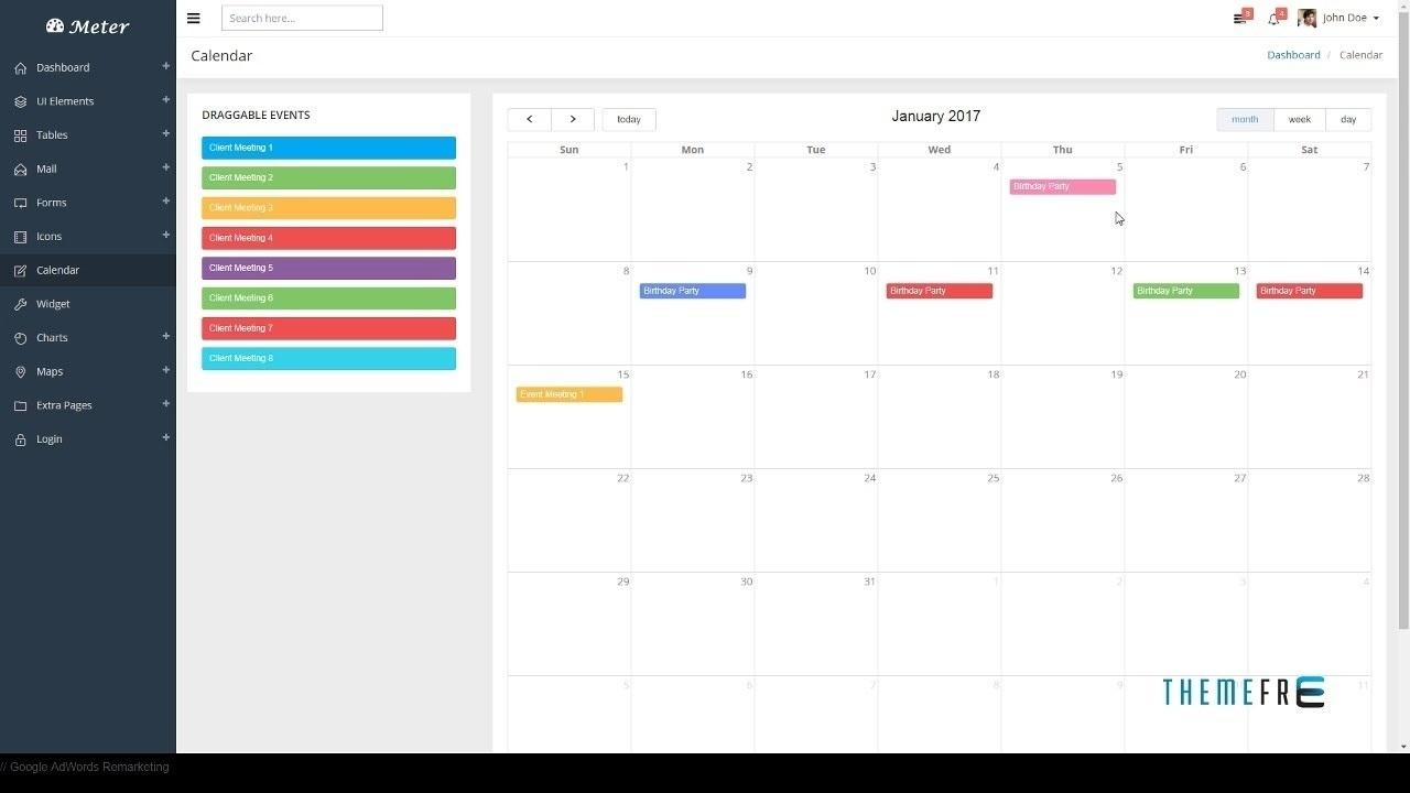 Bootstrap 4 Calendar Icon • Printable Blank Calendar Template_Calendar Icon In Bootstrap 4