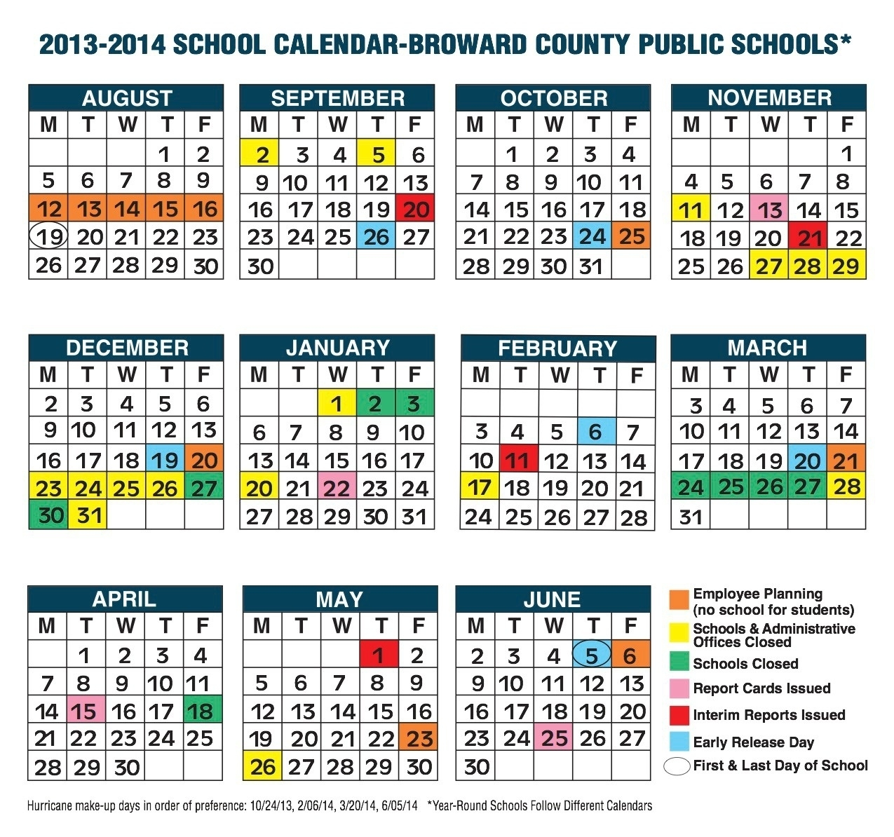Broward County School Calendar 2019 | Kostilka_Calendar School 2020 Broward