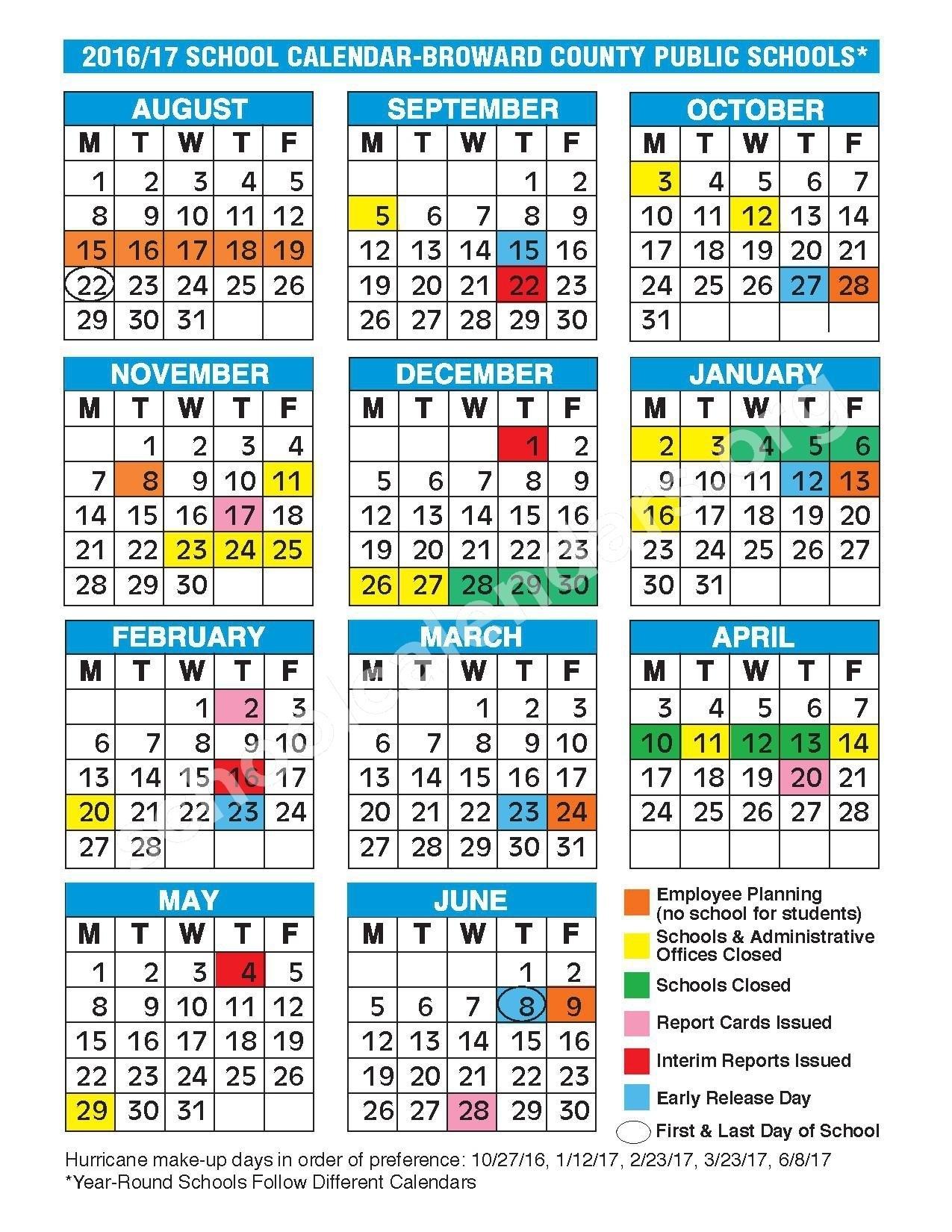 Broward School Calendar - Bgadv_School Calendar For Broward County