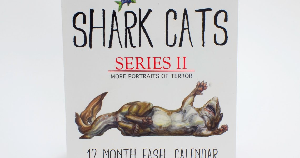 Brynn Methany Shark Cats Wire-O Calendar - Nonstop Printing_Wire O Calendar Printing