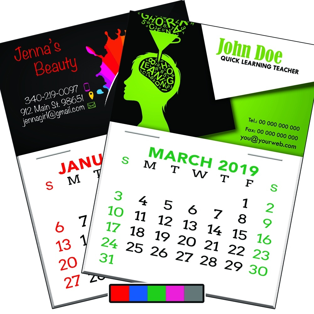 Business Card Calendars – 9 Cent Color Copies_Photo Calendar Printing Vancouver