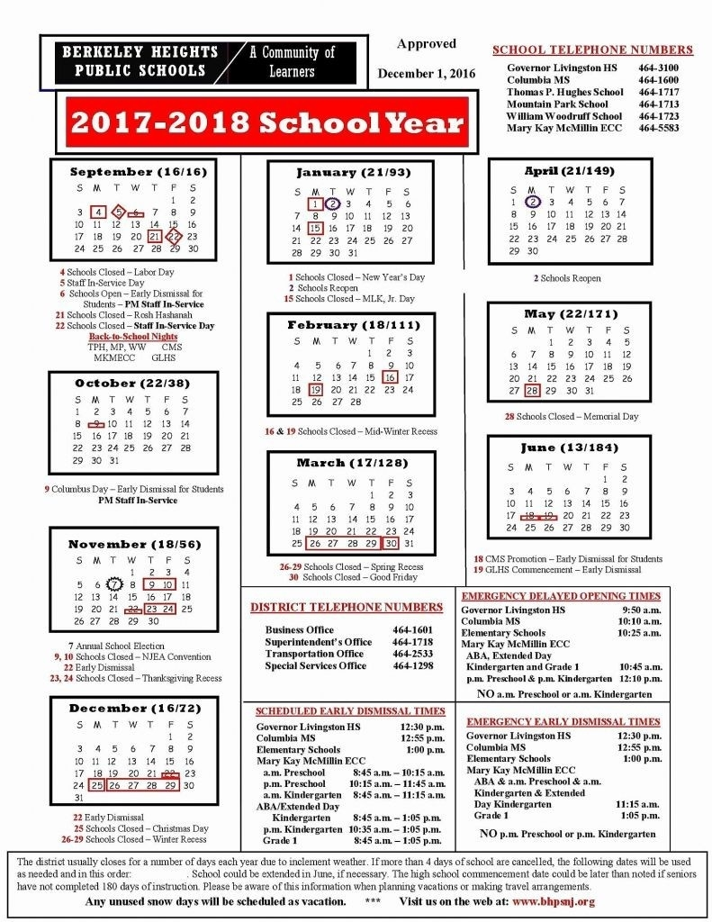 Calendar 10 Hillsborough County School Calendar 2018 | Nicegalleries_School Calendar In Hillsborough County