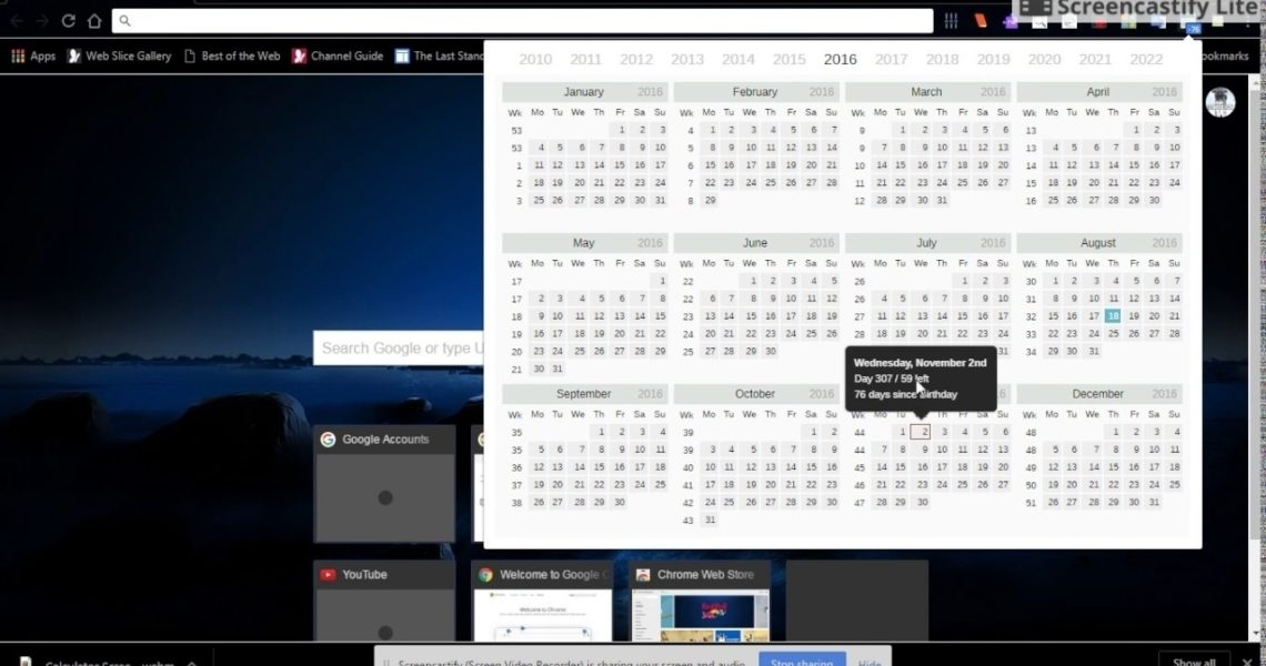 Calendar And Countdown Chrome • Printable Blank Calendar Template_Calendar And Countdown Chrome