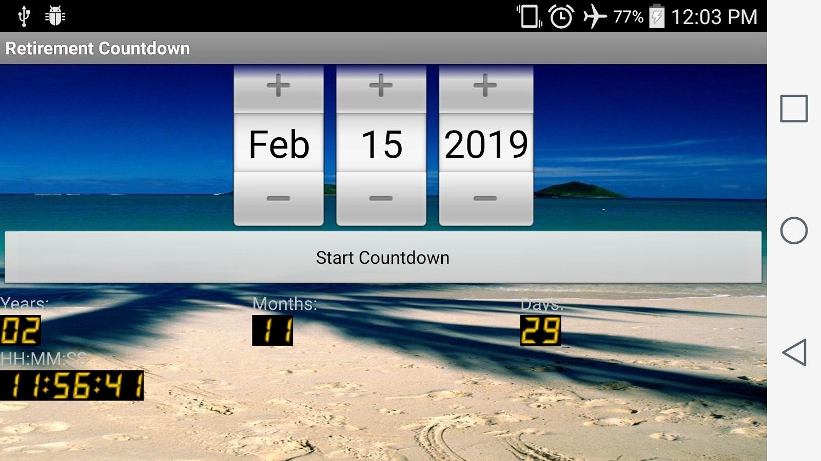 Calendar Countdown For Desktop • Printable Blank Calendar Template_Countdown Calendar To Retirement Desktop