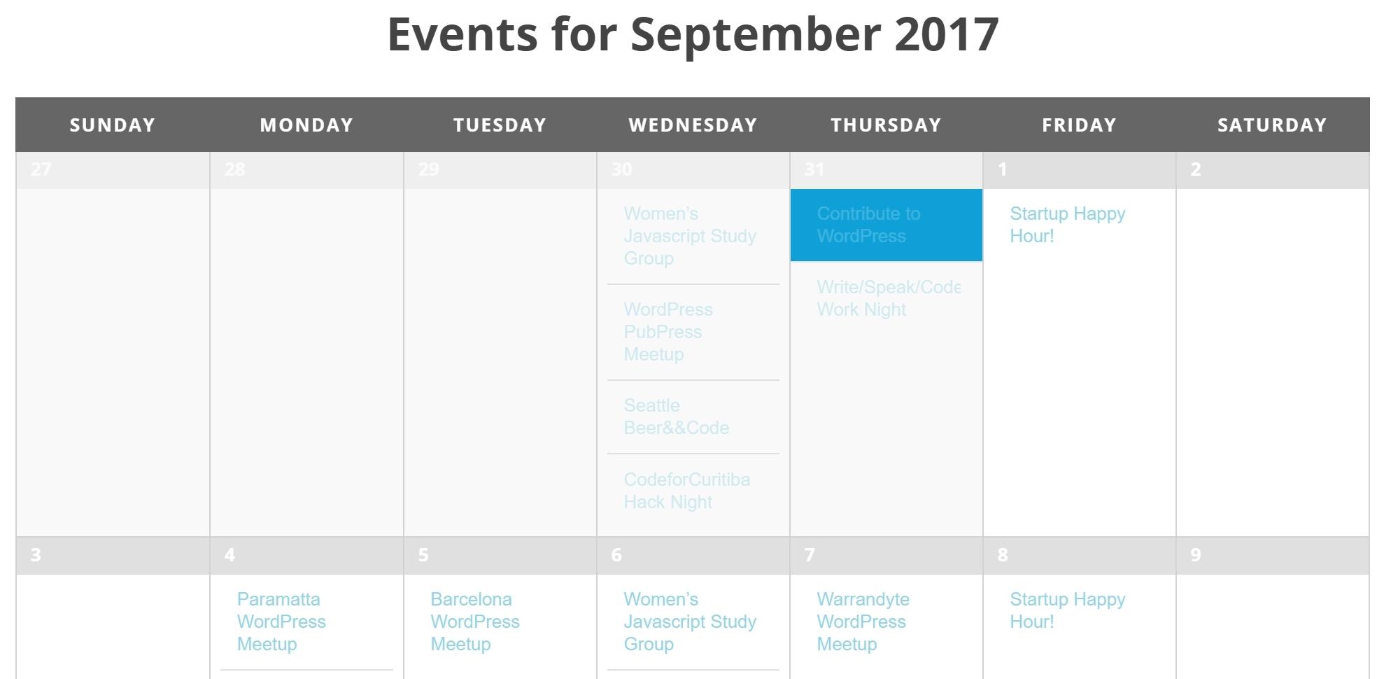 Calendar Countdown List Widget • Printable Blank Calendar Template_Calendar Countdown List Widget