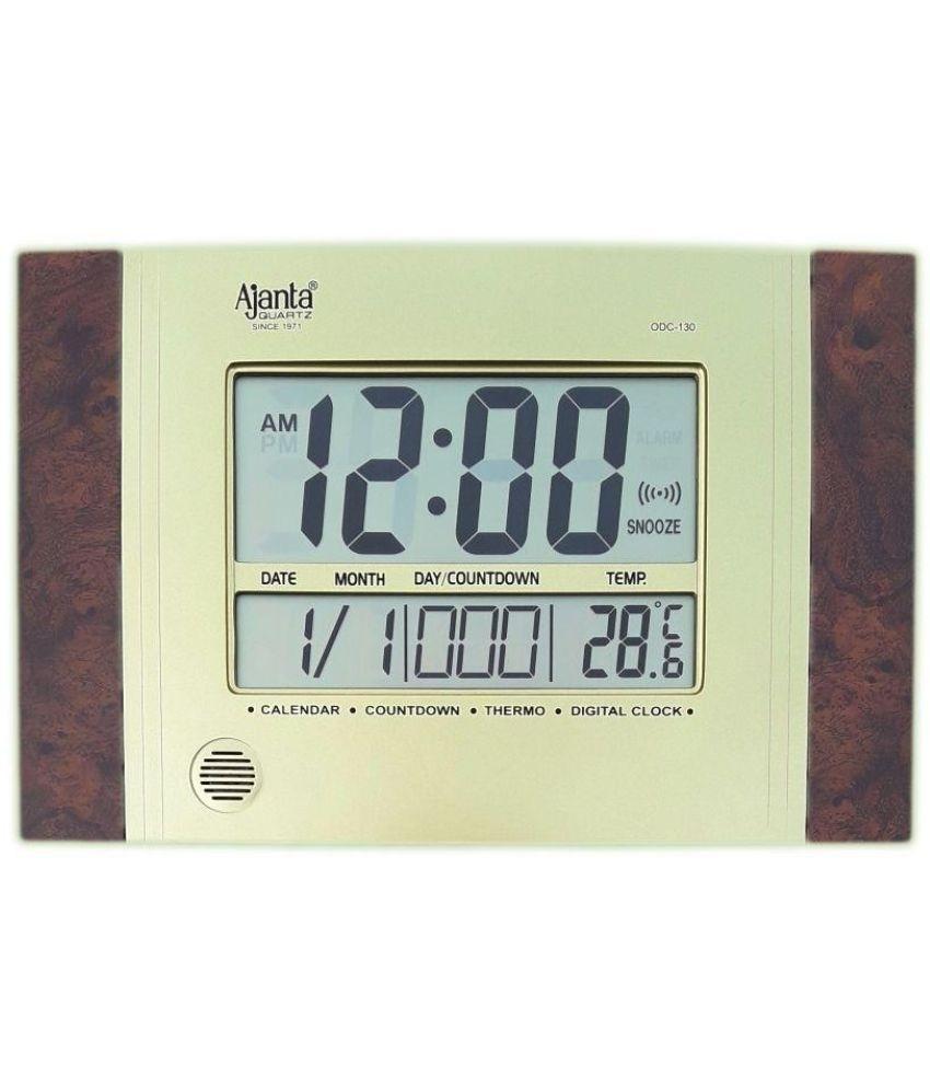 Calendar Countdown Thermo Digital Clock • Printable Blank Calendar_Calendar Countdown Thermo Digital Clock