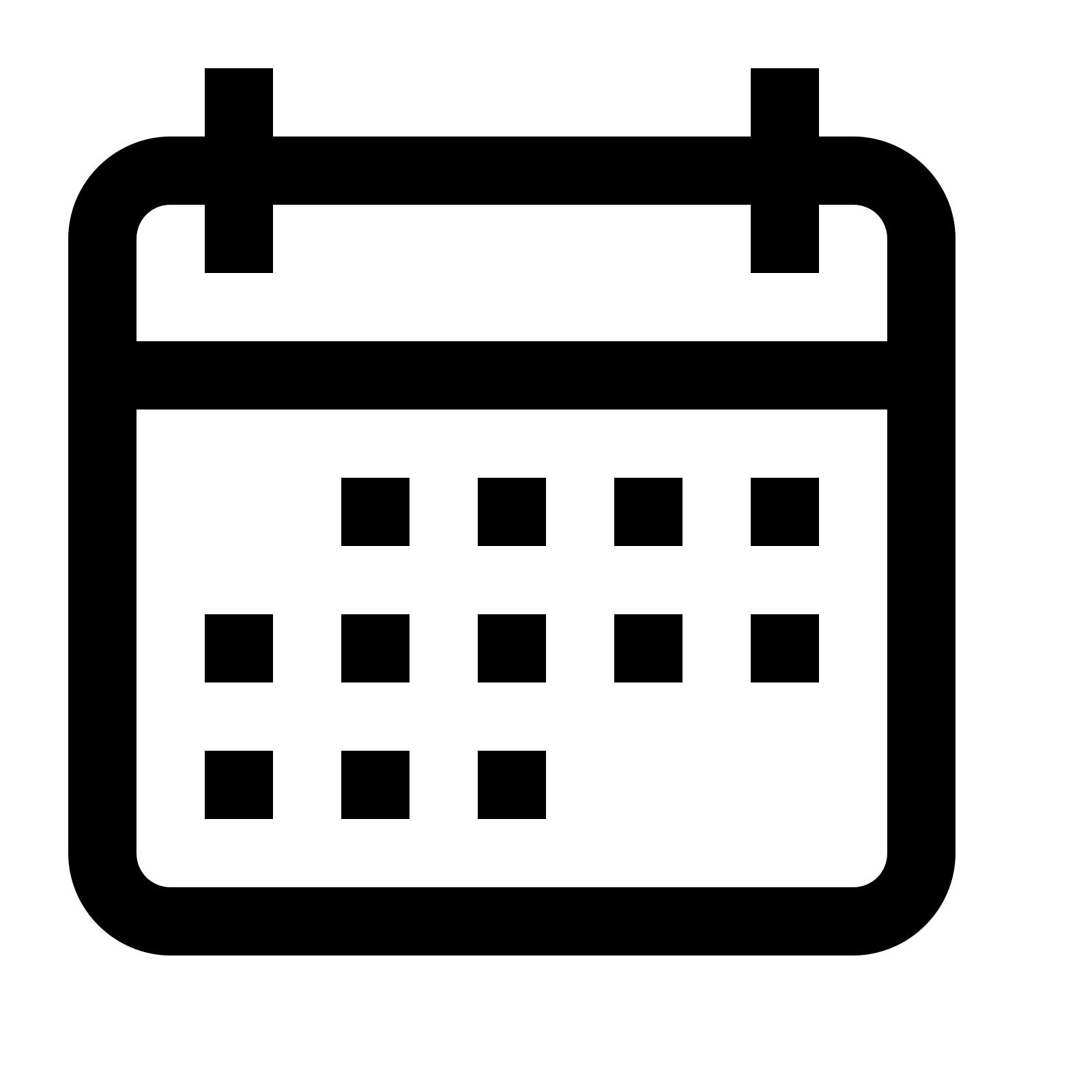 Calendar Icon #17828 - Free Icons Library_Calendar Icon Png 24X24