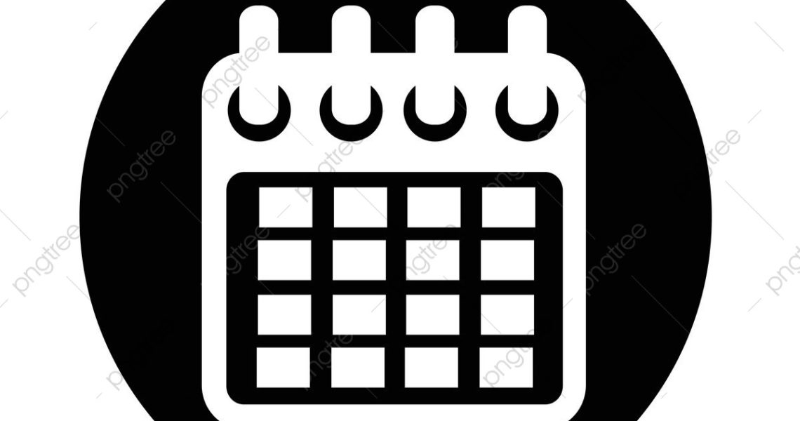 Calendar Icon, Calendar, Icon, Number Png And Vector With_Calendar Icon Free Commercial Use