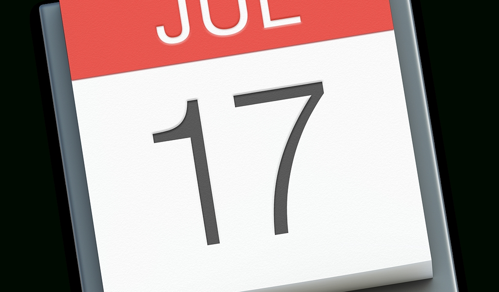Calendar Icon | Os X Yosemite Preview Iconset | Johanchalibert_Apple Calendar Icon Vector