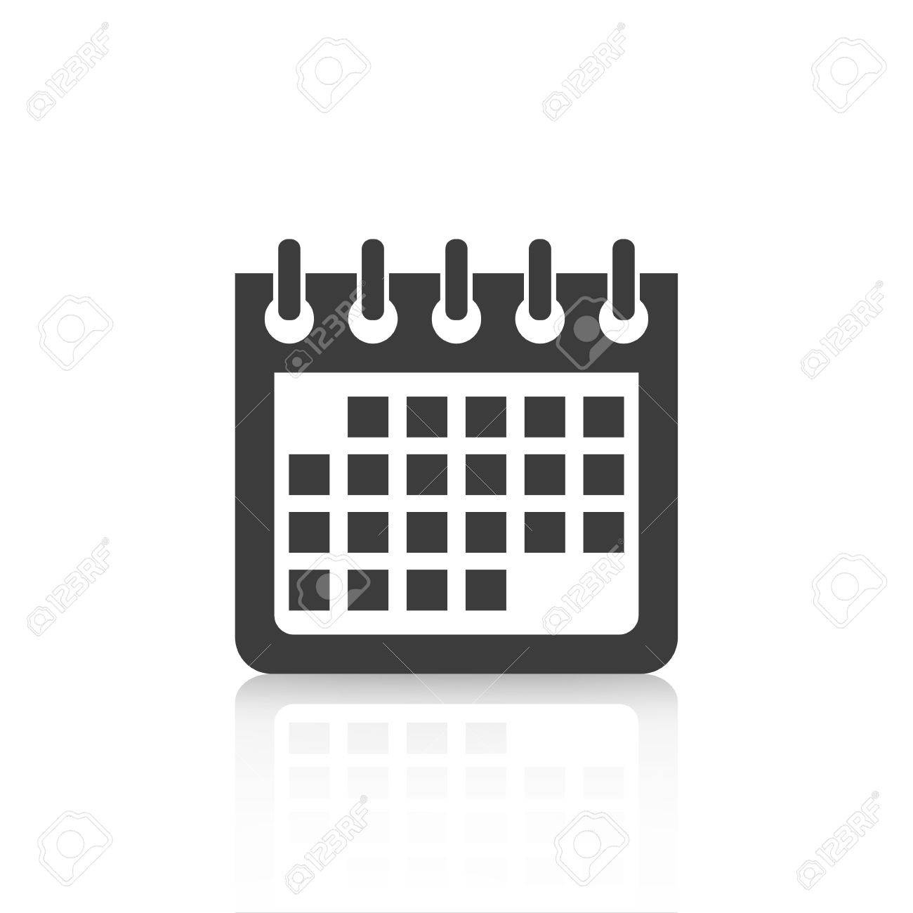 Calendar Icon Web Design And Flat Illustration_Calendar Icon For Website