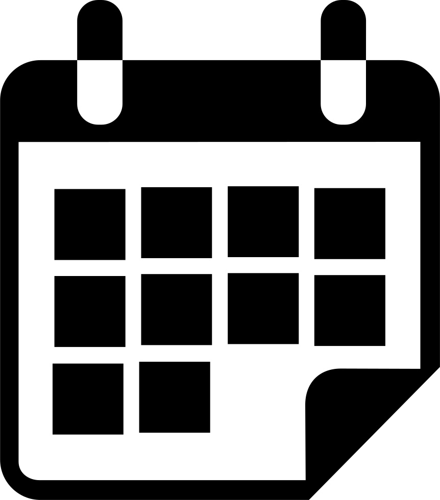Calendar Icon White Png #314146 - Free Icons Library_Calendar Icon Png Image