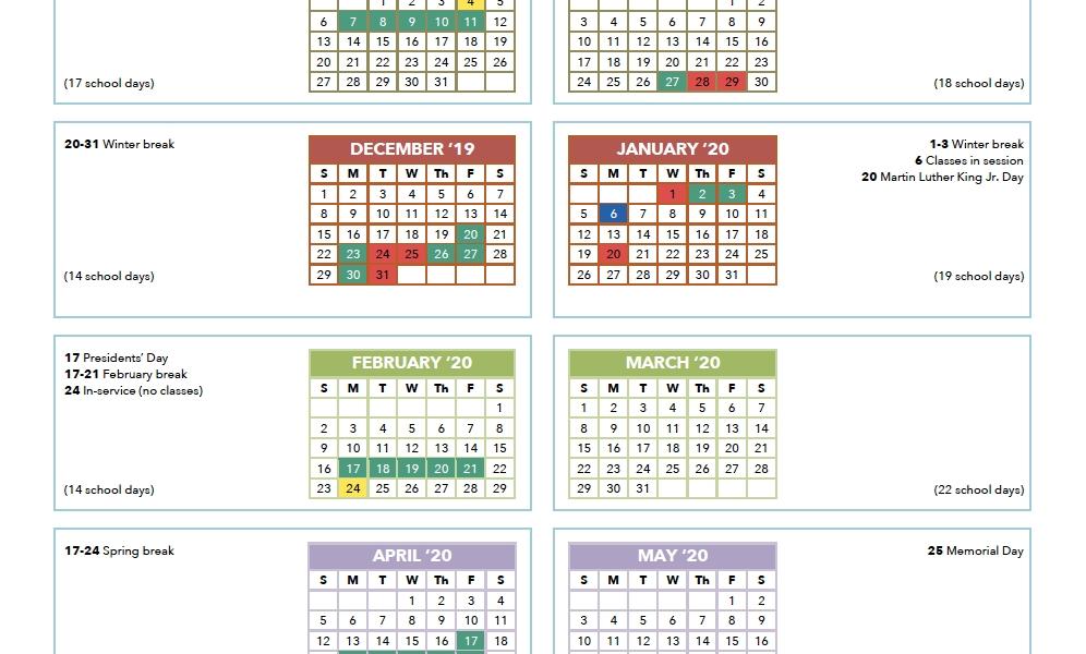 Calendar | International School Of Los Angeles_Calendar School Los Angeles