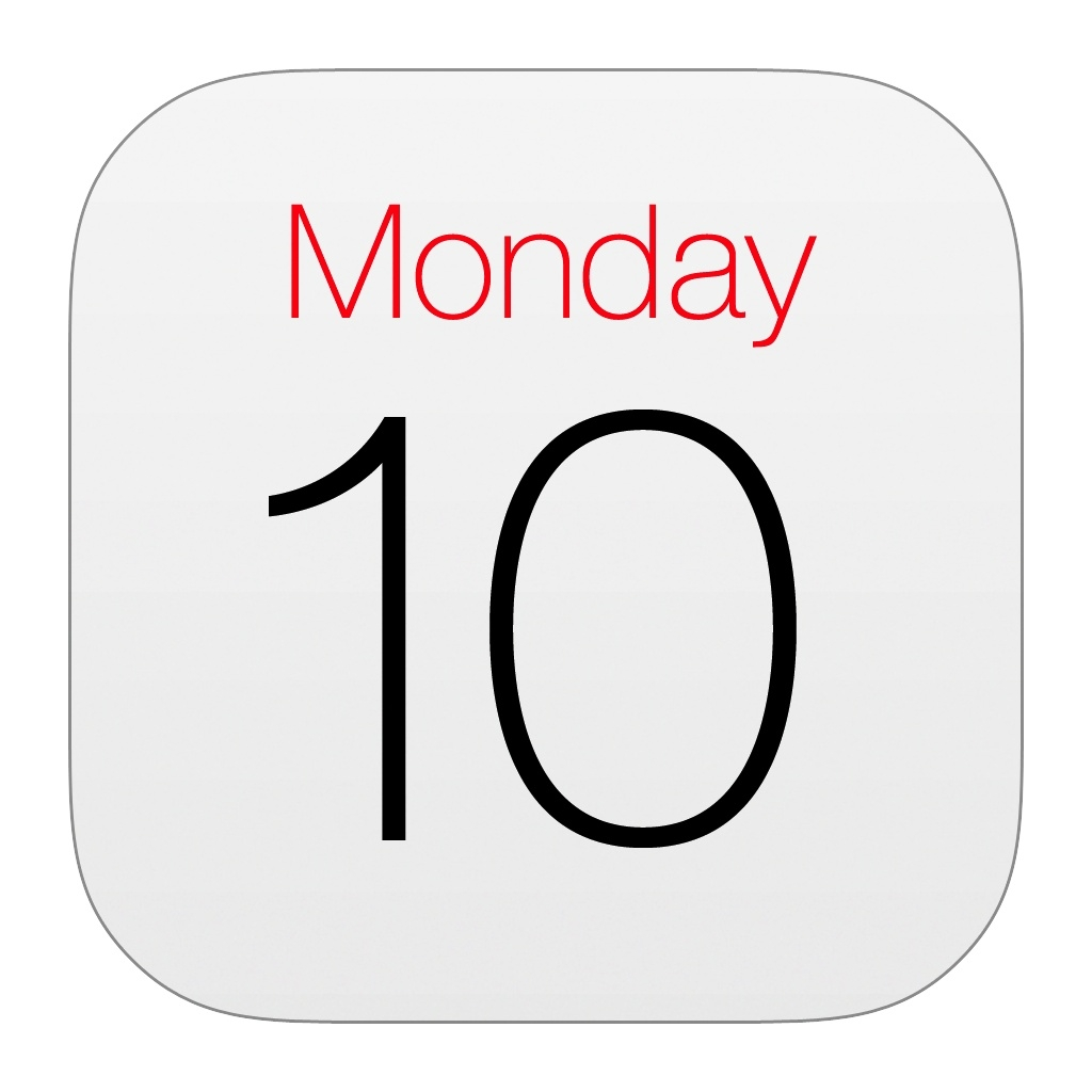 Calendar Iphone Icon #169853 - Free Icons Library_Calendar Icon For Iphone